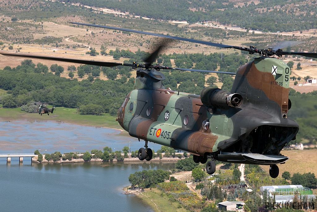 Boeing CH47D Chinook - HT.17-05 / ET-405 - Spanish Army