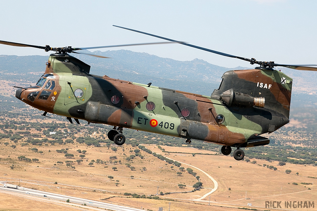 Boeing CH47D Chinook - HT.17-09 / ET-409 - Spanish Army