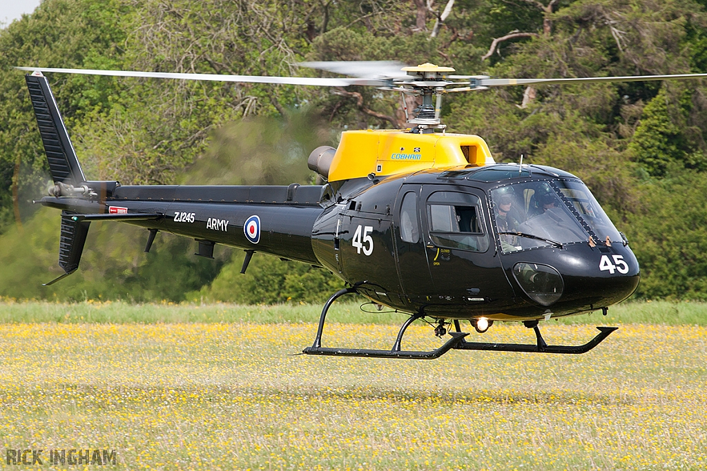 Eurocopter Squirrel HT2 - ZJ245 - AAC