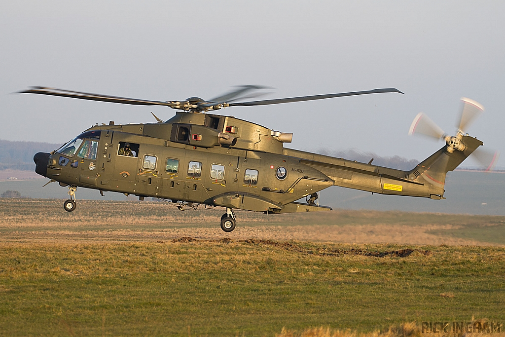 Westland EH101 Merlin Mk512 - M-520 - Danish Air Force