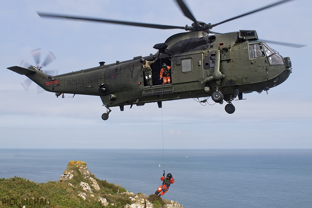 Westland Sea King HC4 - ZA298/Y - Royal Navy