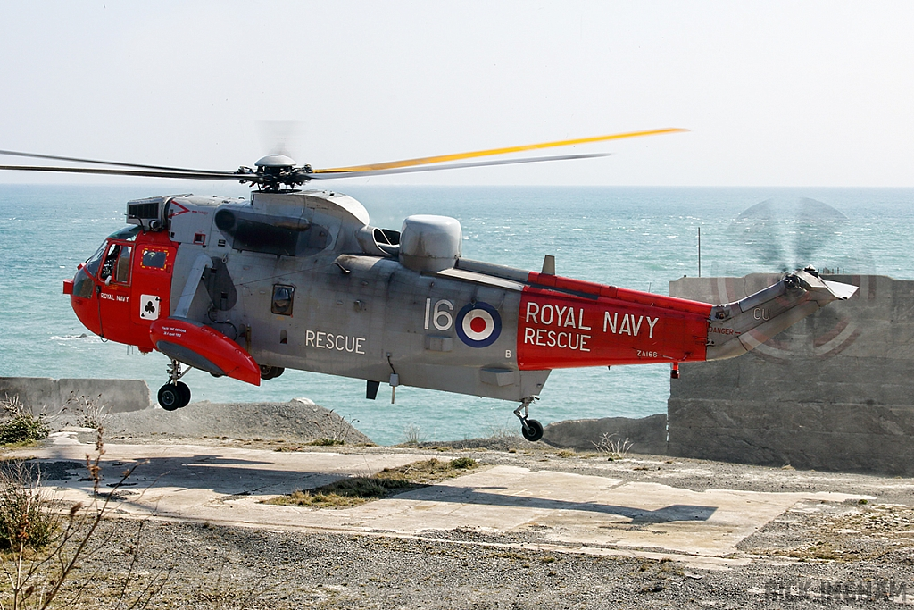 Westland Sea King HU5 - ZA166/16 - Royal Navy