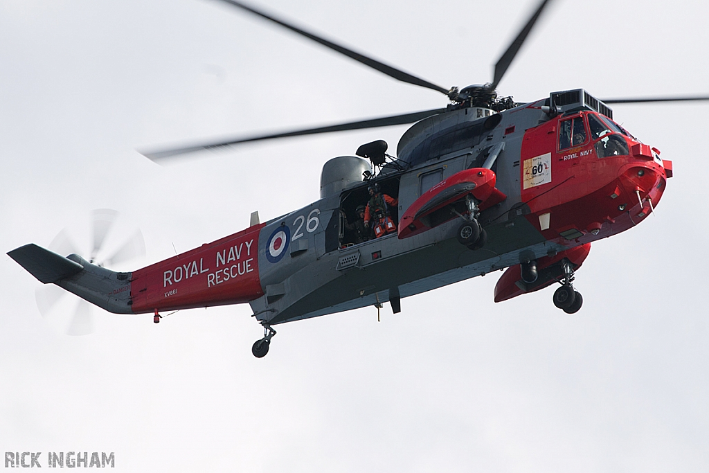 Westland Sea King HU5 - XV661/26 - Royal Navy