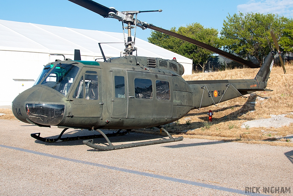Bell UH-1H Iroquois - HU.10-34 / ET-214 - Spanish Army