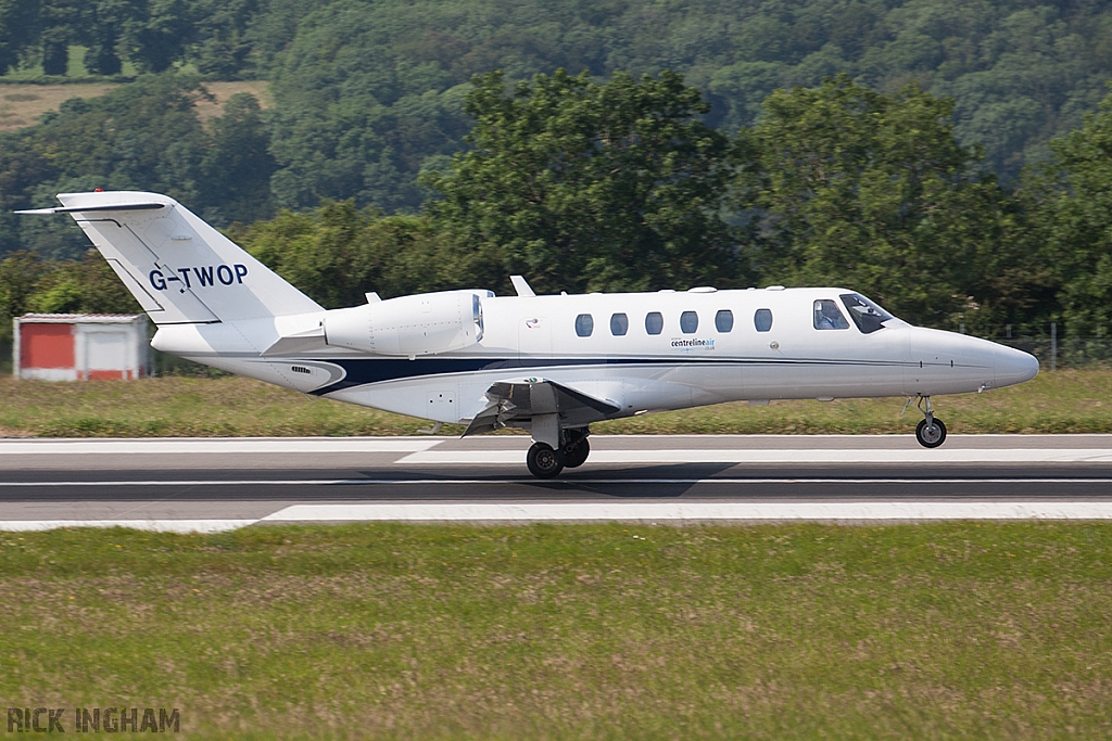 Cessna 525A CitationJet 2 Plus - G-TWOP - Centreline Aviation