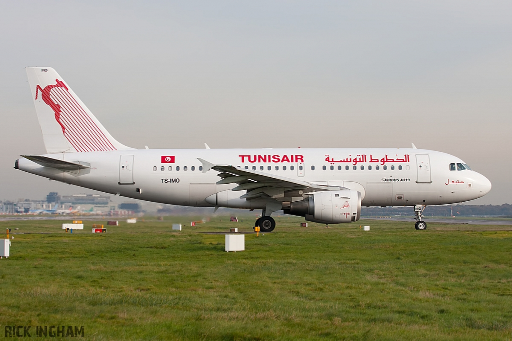 Airbus A319-114 - TS-IMO - Tunisair