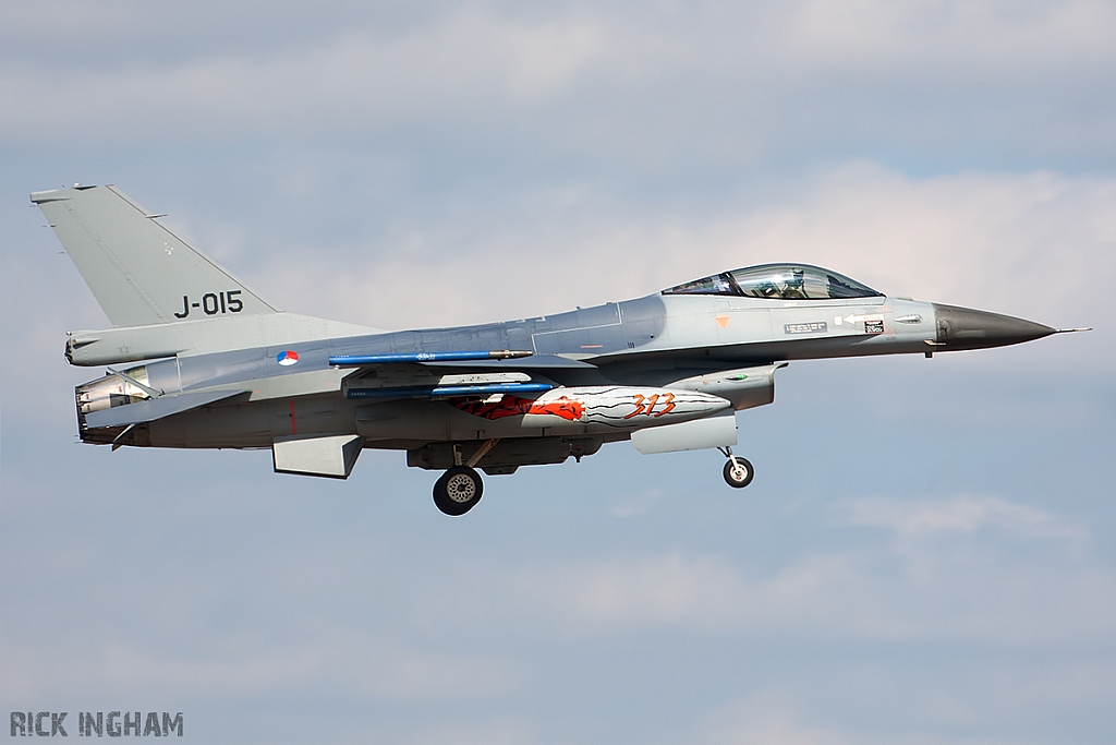Lockheed Martin F-16C Fighting Falcon - J-015 - RNLAF