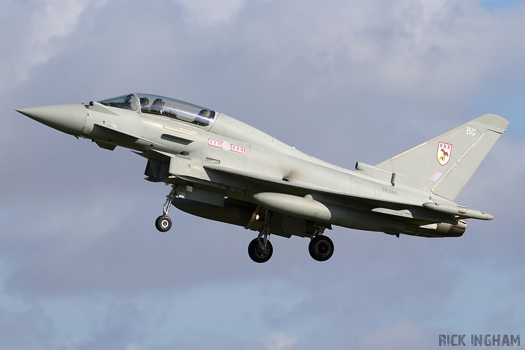 Eurofighter Typhoon T3 - ZK380/BG - RAF