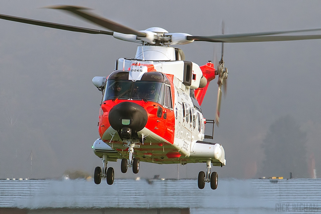 AgustaWestland AW101 Merlin Mk612 - ZZ102/0265 - Norwegian Air Force