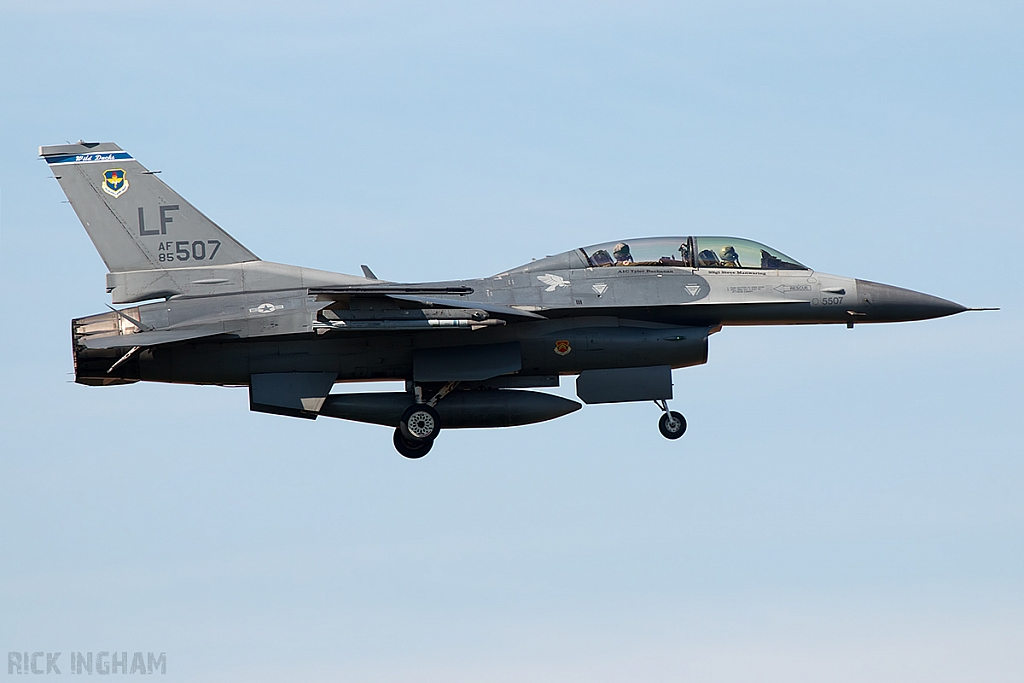 Lockheed Martin F-16D Fighting Falcon - 85-1507 - USAF