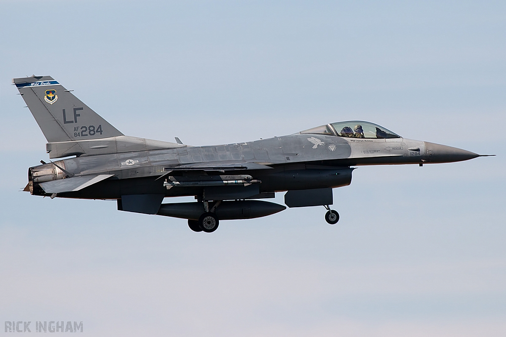 Lockheed Martin F-16C Fighting Falcon - 84-1284 - USAF