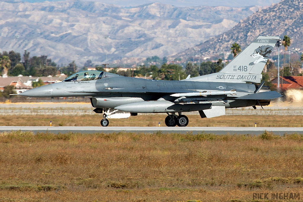 Lockheed F-16C Fighting Falcon - 88-0418 - USAF