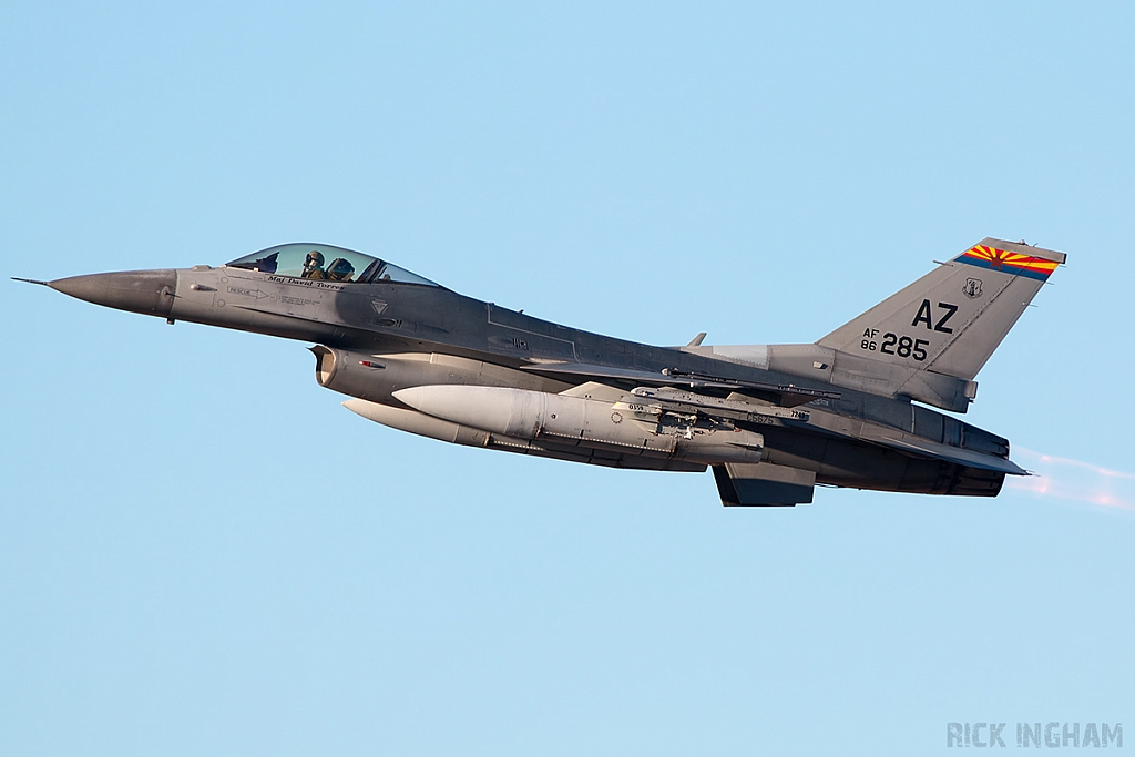 Lockheed Martin F-16C Fighting Falcon - 86-0285 - USAF