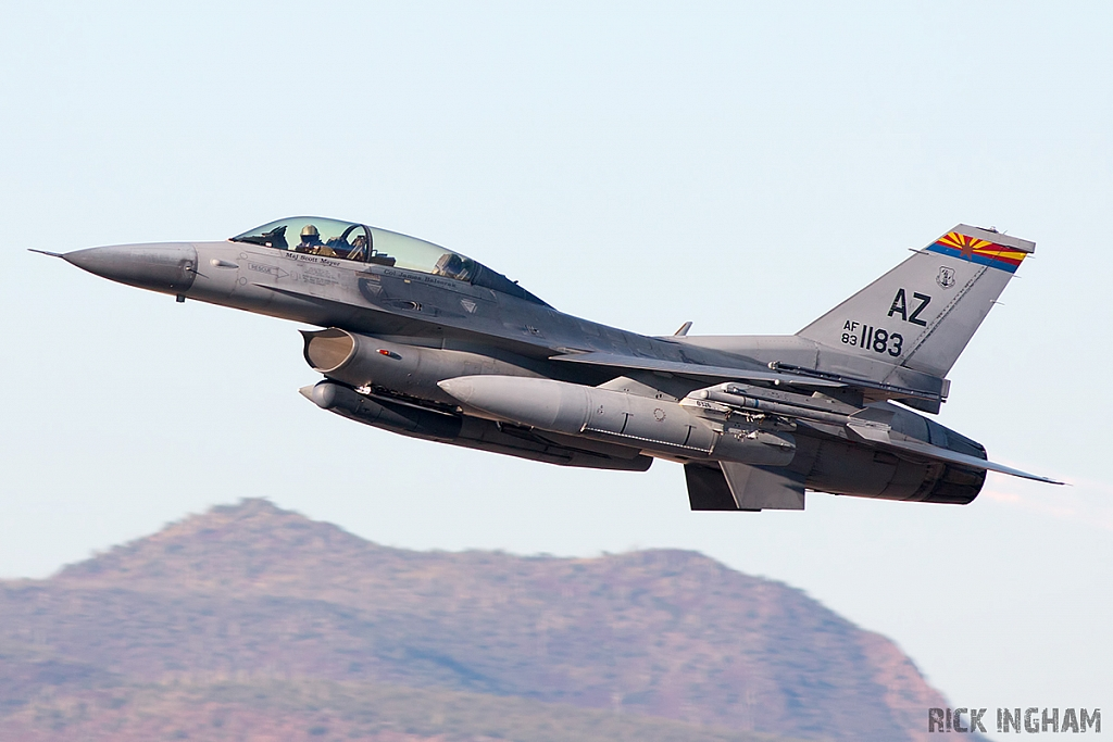 Lockheed Martin F-16D Fighting Falcon - 83-1183 - USAF
