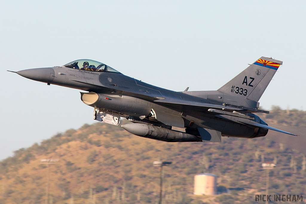 Lockheed Martin F-16C Fighting Falcon - 87-0333 - USAF