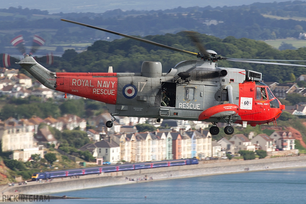 Westland Sea King HU5 - XV670/17 - Royal Navy