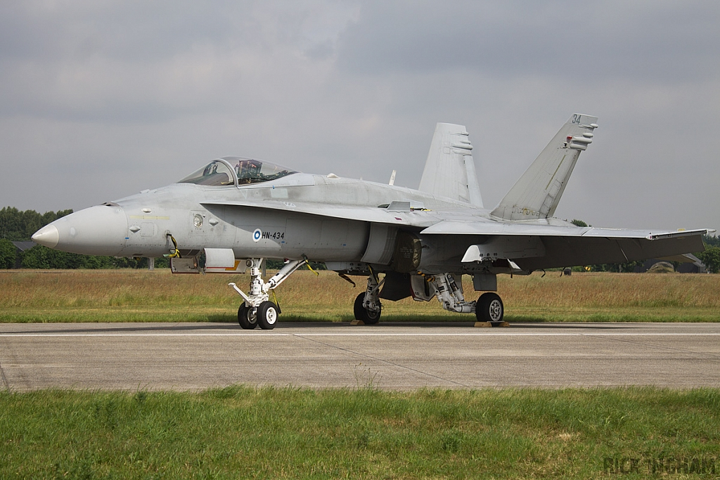 McDonnell Douglas F/A-18C Hornet - HN-434 - Finnish Air Force