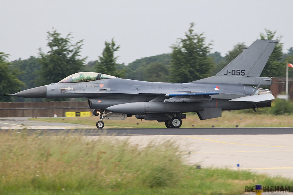 Lockheed Martin F-16AM Fighting Falcon - J-055 - RNLAF