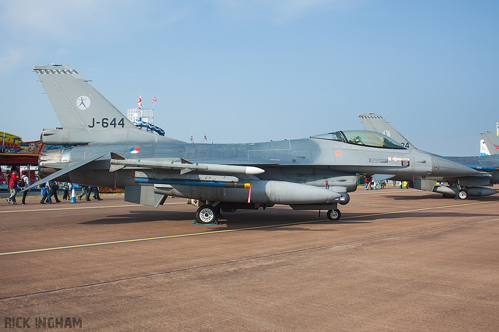 Lockheed Martin F-16AM Fighting Falcon - J-644 - RNLAF