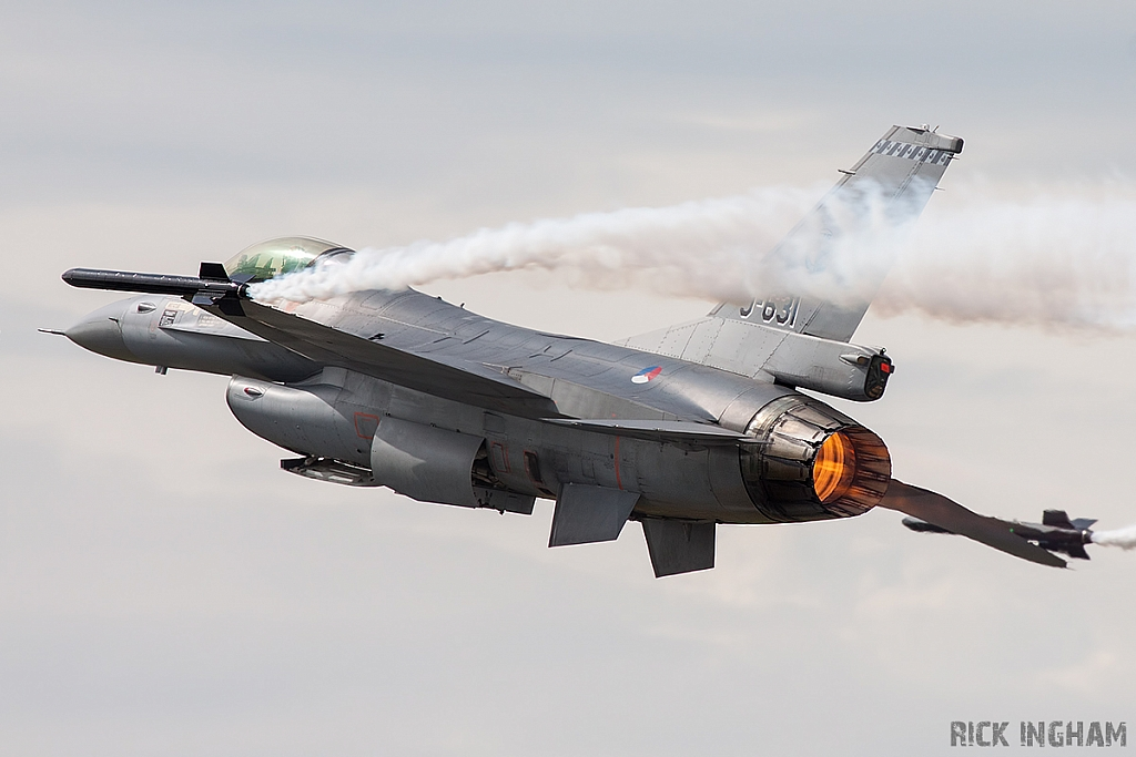 Lockheed Martin F-16AM Fighting Falcon - J-631 - RNLAF