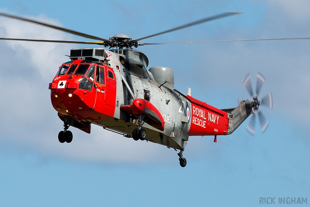 Westland Sea King HU5 - XV673/27 - Royal Navy