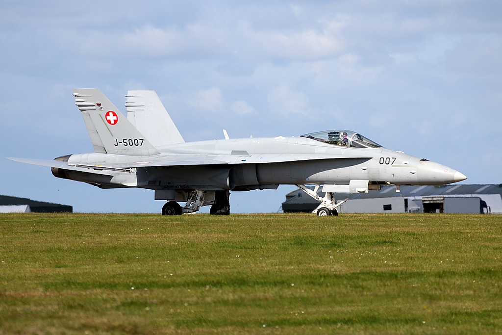 McDonnell Douglas F/A-18C Hornet - J-5007 - Swiss Air Force