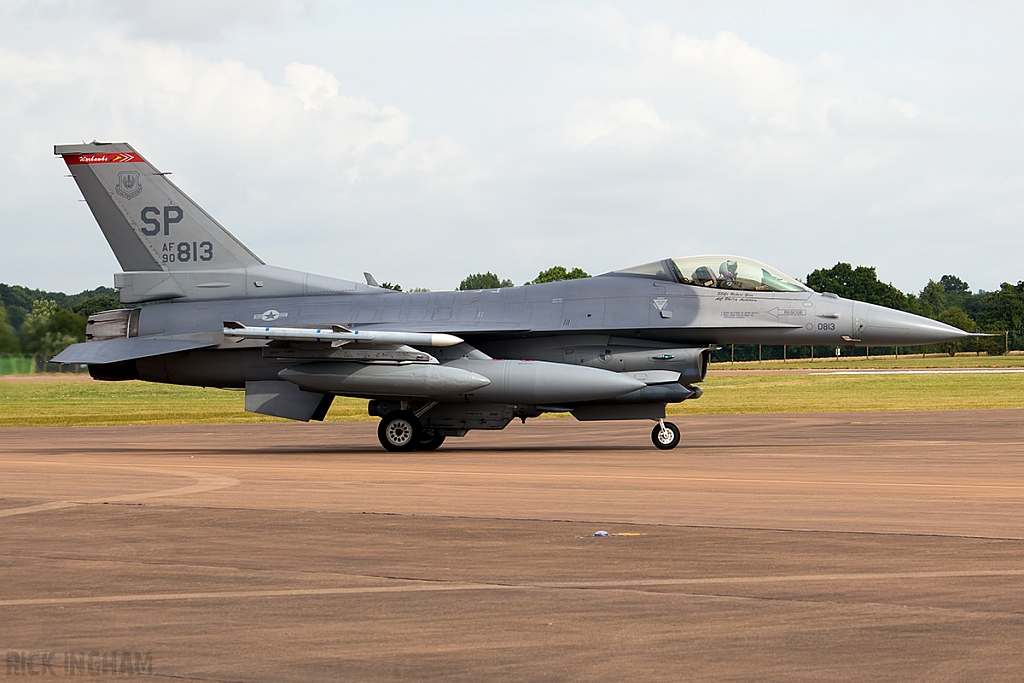 Lockheed Martin F-16C Fighting Falcon - 90-0813 - USAF