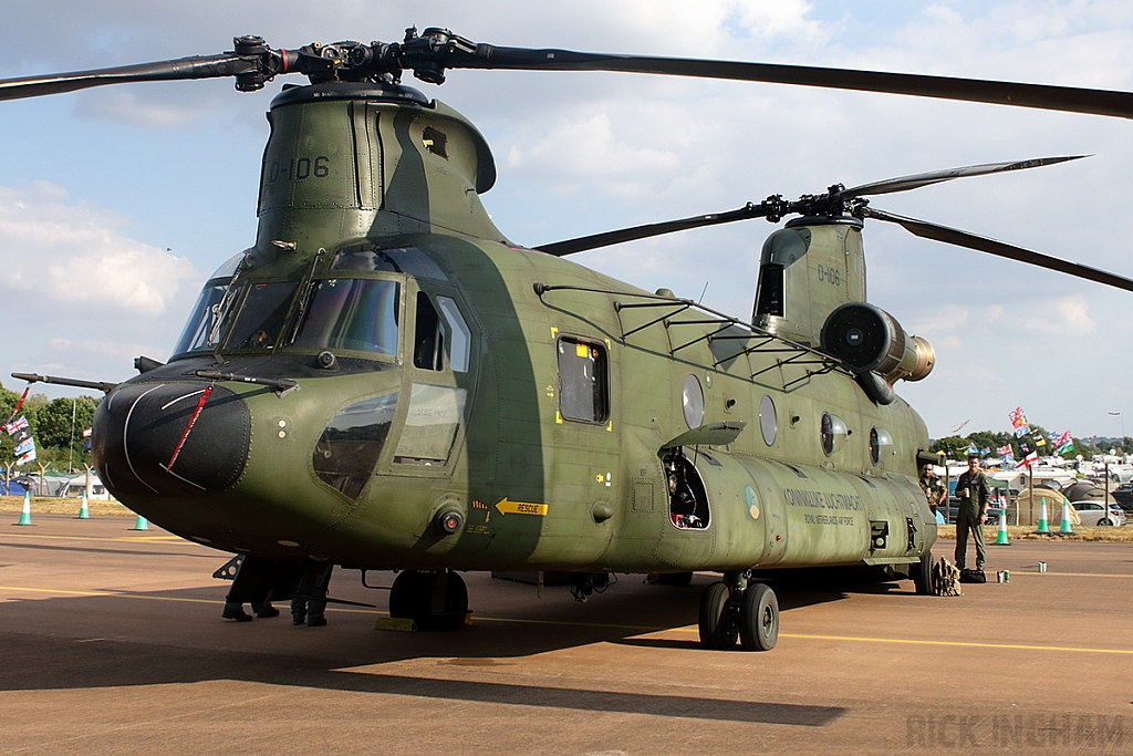 Boeing CH-47D Chinook -  D-106 - RNLAF