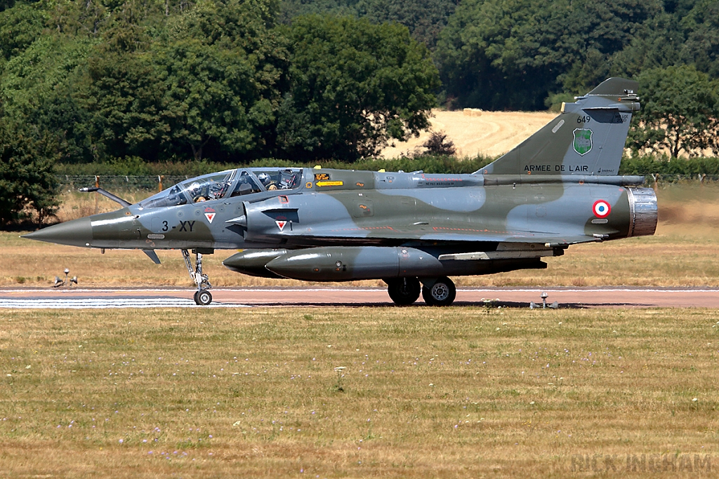 Dassault Mirage 2000D - 649/3-XY - French Air Force