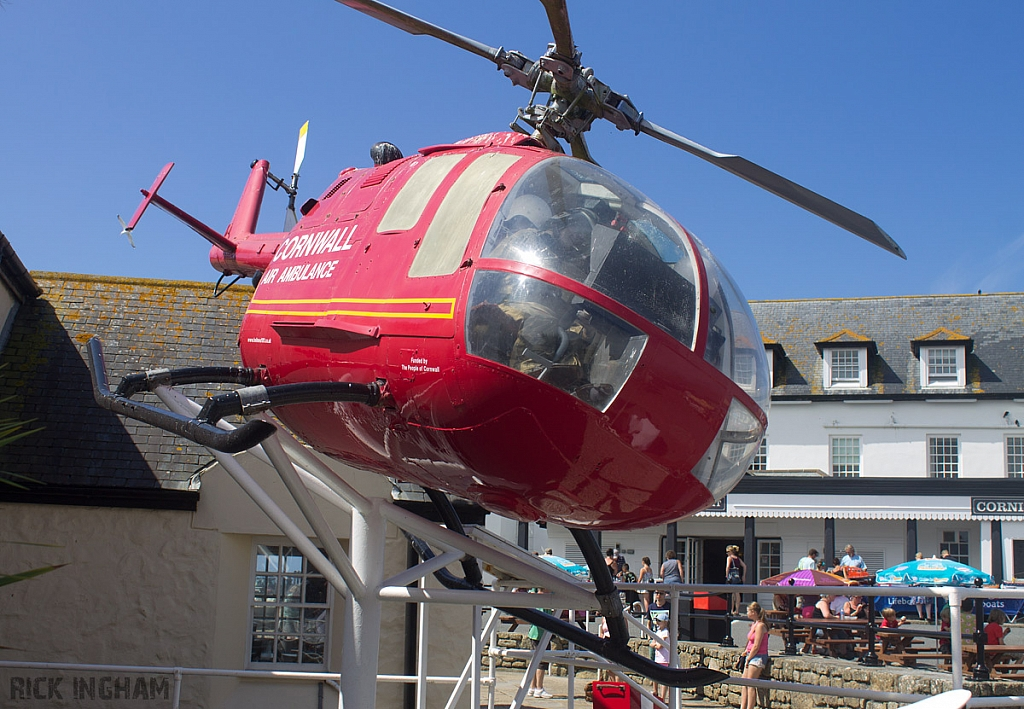 Bolkow Bo-105 - G-BOND - Cornwall Air Ambulance