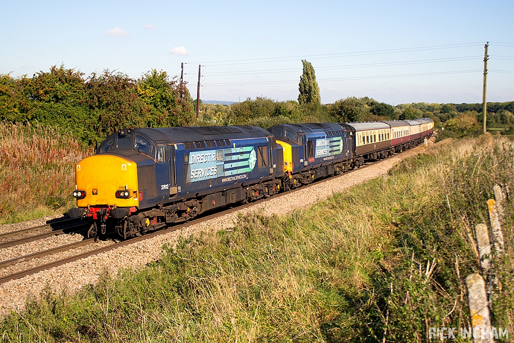 Class 37 - 37612 + 37601 - Direct Rail Services