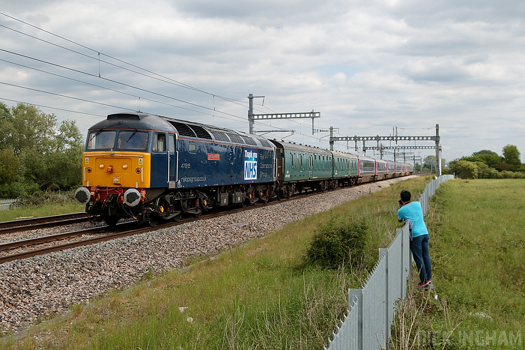 Class 47 - 47815 - Rail Operations Group