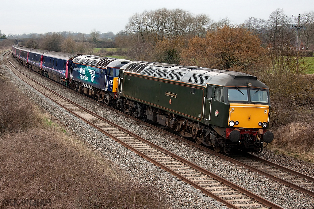Class 57 - 57604 - FGW + 57306 - Direct Rail Services