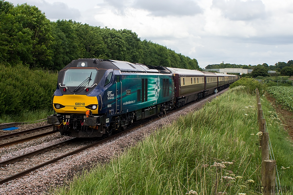 Class 66 - 66018 - Direct Rail Services
