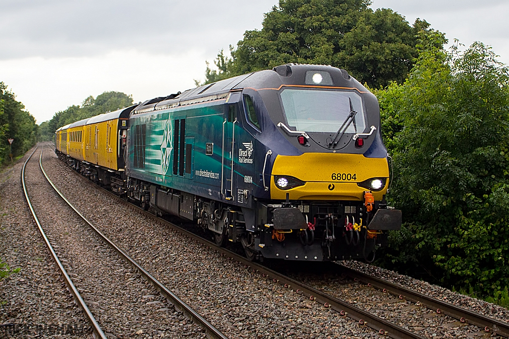 Class 68 - 68004 - Direct Rail Services