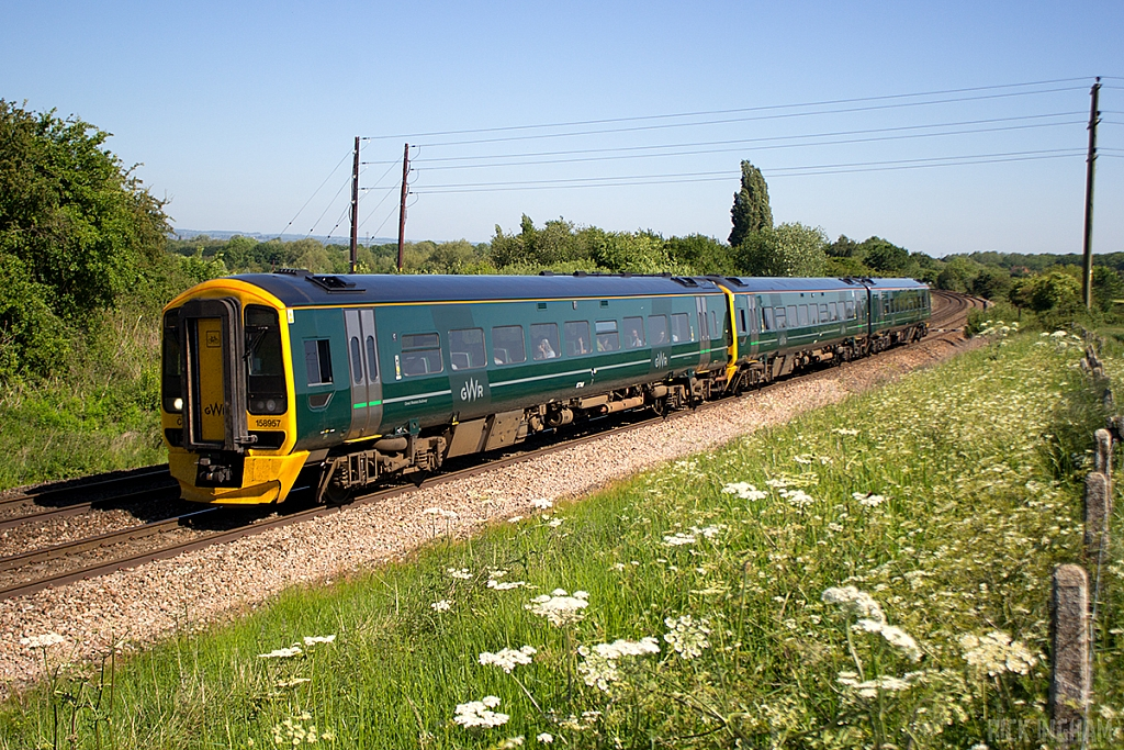 Class 158 - 158957 - Great Western Railway