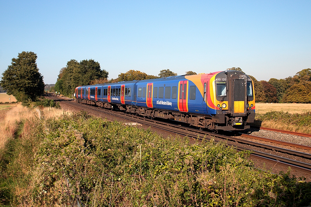 Class 450 - 450120 - South Western Railway