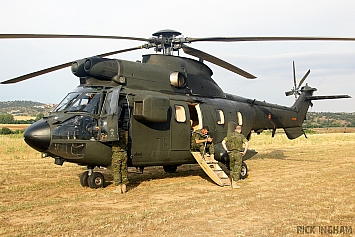 Aerospatiale AS332B Super Puma - HT.21-08 - ET-502 - Spanish Army