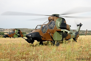 Eurocopter EC665 Tiger - HA.28-06/ET-706 + HA.28-01/ET-708 - Spanish Army