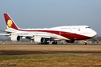 Boeing 747-8ZV(BBJ) - VQ-BSK - World Wide Aviation