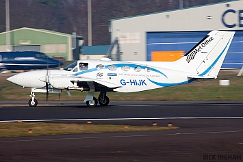 Cessna 421C Golden Eagle - G-HIJK - Met Office