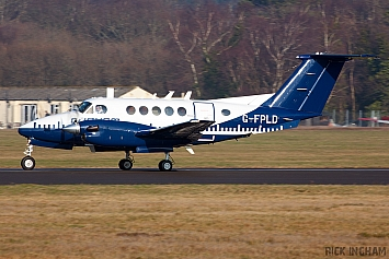 Beech King Air B200 - G-FPLD - Cobham