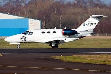Cessna 510 Citation Mustang - G-FBKC - Blink Ltd