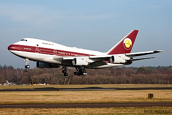 Boeing 747SP-21 - VP-BAT - World Wide Aviation