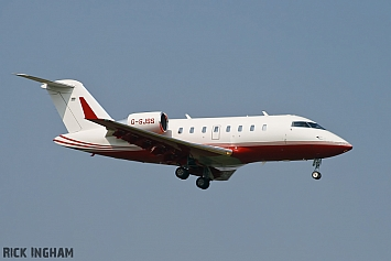 Bombardier Challenger 605 - G-SJSS - TAG Aviation UK