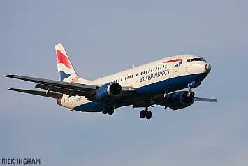 Boeing 737-436 - G-DOCG - British Airways