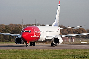 Boeing 737-8JP - LN-DYN - Norwegian Air Shuttle