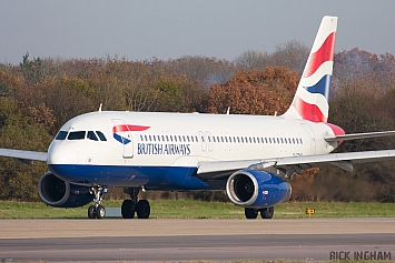 Airbus A320-232 - G-TTOE - British Airways