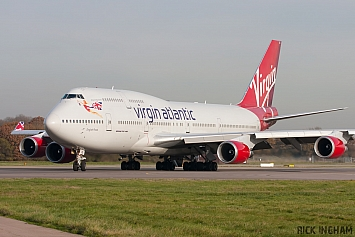 Boeing 747-443 - G-VROS - Virgin Atlantic