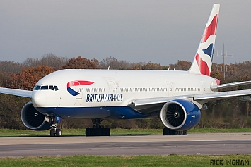Boeing 777-236ER - G-VIIT - British Airways
